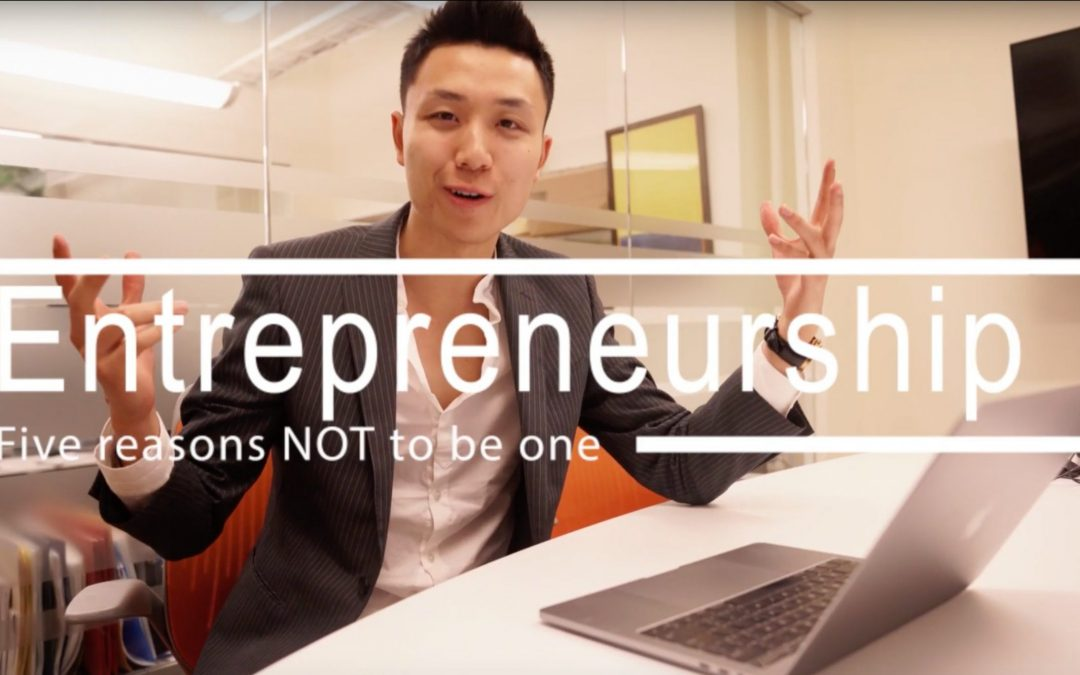 5 Reasons NOT to be an Entrepreneur