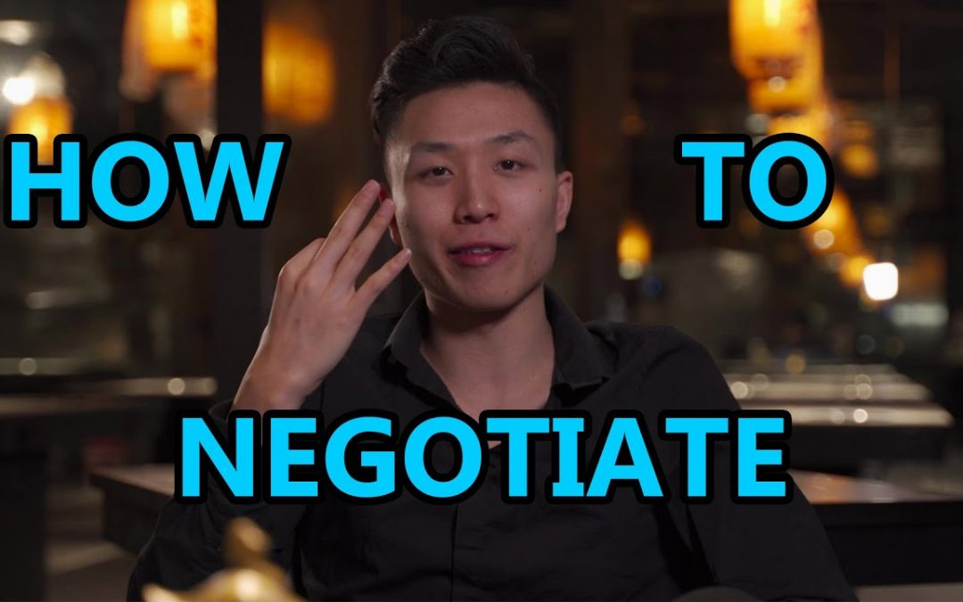 3 SECRETS to Negotiate Like A BOSS | Improve Your Life With Better Negotiation Skills